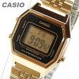 CASIO(カシオ) LA-680WGA-1/LA680WGA-1 スタンダード デジタル ゴールド キッズ・子供 かわいい! レディースウォッチ チープカシオ 腕時計 【あす楽対応】