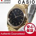 CASIO(カシオ) LTP-1130N-1A/LTP1130N-1A ベーシック アナログ ブラックダイアル ゴールド キッズ・子供 かわいい! レディースウ...