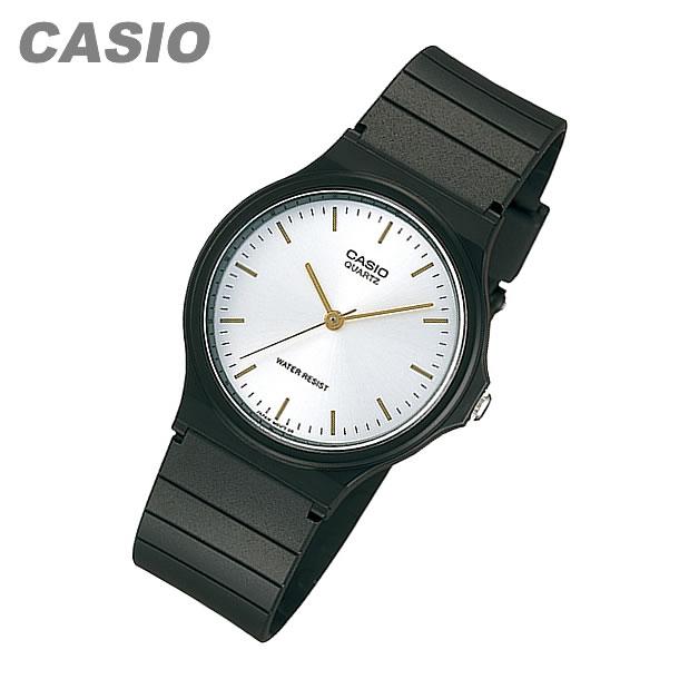 【メール便送料無料】 CASIO カシオ MQ-24-7E2/MQ24-7E2 ベーシック アナログ ブラック/シルバー キッズ 子供 かわいい メンズ チープカシオ チプカシ 腕時計