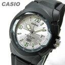 【メール便送料無料】CASIO(カシオ) MW-600F-7A/MW600F-7A ベーシック アナログ ブラック×シルバー キッズ・子供 かわいい! メンズウォッチ チープカシオ 腕時計 【あす楽対応】