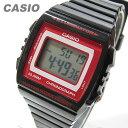 CASIO(カシオ) W-215H-1A2/W215H-1A2 ベーシック デジタル ブラック×レッド キッズ・子供 かわいい! メンズウォッチ チープカシオ 腕時計