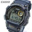 CASIO(カシオ) W-735H-2A/W735H-2A スポーツ デジタル ネイビー キッズ・子供 かわいい! メンズウォッチ チープカシオ 腕時計 【あす楽対応】