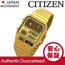 CITIZEN (シチズン) JG2002-53P ANA-DIGI TEMP/アナデジテンプ 海外モデル ゴールド メタルベルト メンズウォッチ 腕時計