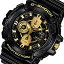 CASIO G-SHOCK(カシオ Gショック) GAC-100BR-1A/GAC100BR-1A Garish Gold Series/ガリッシュゴールドシリ...