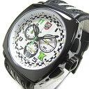 LUMINOX (ルミノックス) 1146 トニーカナーン シリーズ クロノグラフ レザーベルト メンズウォッチ 腕時計