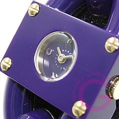 MARC BY MARC JACOBS (マーク バイ マークジェイコブス) MBM4528 Leah Chain/リア チェーン 大人かわいい!ブレスウォッチ パープル レディース 腕時計 【対応】 【無料ラッピング・弊社1年保証】