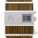 NIXON THE ROTOLOG (Nixon lot log) A028-439 teak grain of wood men watch [easy ギフ _ packing choice]