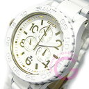 42-20 NIXON (Nixon) THE Chrono SS A037-1035/A0371035 chronograph oar white X gold men watch watch [easy ギフ _ packing choice]