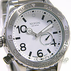 NIXON THE 51-30 ( Nixon フィフティワン thirty ) A057-100 white 300 m water resistant men watch