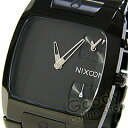 NIXON BANKS (Nixon Bankes) A060-001 oar black BLACK/ black men watch [easy ギフ _ packing choice]