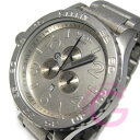 51-30 NIXON (Nixon) THE Chrono A083-1033/A0831033 51mm case chronograph 300m waterproofing oar low steel men watch watch [easy  _ packing choice]