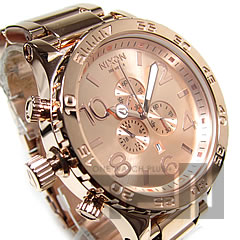 NIXON THE 51-30 (Nixon) A083-897/A083897 CHRONO chronograph 300 m water resistant All Rose Gold / オールローズゴールド メンズウォッチウォッチ watch