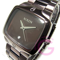 NIXON (Nixon) THE PLAYER / players A140-471/A140471 All Brown×Brown / Brown / Brown watch
