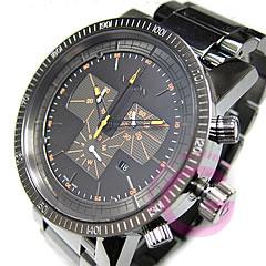 NIXON (ニクソン) A154-1235/A1541235 MAGNACON SS/マグナコン クロノグラフ Steel Gray/スティールグレー 腕時計 【無料ラッピング・弊社1年保証】