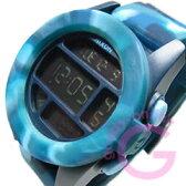 NIXON (ニクソン) A197-1726/A1971726 UNIT/ユニット デジタル マーブルブルー メンズウォッチ 腕時計
