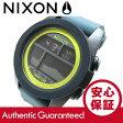 NIXON (ニクソン) A282-2058/A2822058 THE UNIT TIDE/ユニットタイド ブラック×ダークグレー×シャトリューズ メンズウォッチ 腕時計