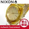 NIXON TIME TELLER ACETATE(ニクソン タイムテラー アセテート) A327-1423/A3271423 シャンパンゴールド べっ甲柄 ユニセックスウォッチ 腕時計