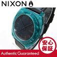 NIXON TIME TELLER ACETATE(ニクソン タイムテラー アセテート) A328-1054/A3281054 マリンブルー レザーベルト メンズウォッチ 腕時計