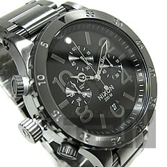 NIXON THE 48-20 (Nixon) A486-632/A486632 1 / 20 second chronograph Japan-Miyota quartz movement with オールガン metal メンズウォッチウォッチ watch