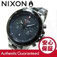 NIXON (ニクソン) A549-1531/A5491531 THE RANGER/レンジャー クロノグラフ ガンメタルブラック メタルベルト メンズウォッチ 腕時計
