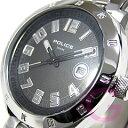 POLICE OUTLOW(ポリス アウトロー) PL11807JS-02M メタルベルト ブラック メンズウォッチ 腕時計【あす楽対応】
