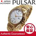 SEIKO PULSAR (セイコー パルサー) PXT818X メタルベルト ゴールド レディースウォッチ 腕時計 【あす楽対応】