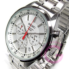 Metal belt /SS silver watch chronograph SEIKO ( Seiko ) SSB035P1