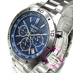 Metal belt /SS Navy watch chronograph SEIKO ( Seiko ) SSB059P1