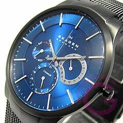 SKAGEN ( Skagen ) 809 XLTBN multifunction blue mens watch