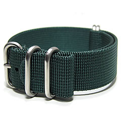 T2N Strap (strap T2N) PT24Z-5DGR 5RING ballistic nylon strap band dark green replacement belt for military watches