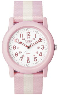 TIMEX (Timex) T2N258 Camper/ camper pink military men watch watch