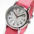 TIMEX (タイメックス) T2P368 Weekender/ウィークエンダー セントラルパーク ミッドサイズ ナイロンベルト ピンク レディースウォッチ 腕時計 【あす楽対応】