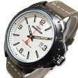 Timex (タイメックス) T49909 Expedition Rugged Field/エクスペディション ラギッド フィールド レザーベルト ベージュダイアル メンズウォッチ 腕時計