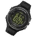 Timex (タイメックス) T49950 Expedition Shock XL Vibrating/エクスペディション ショック XL バイブレーティング デジタル ラバーベルト ブラック メンズウォッチ 腕時計