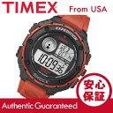 Timex (タイメックス) T49984 Expedition/エクスペディション バイブレーションアラーム デジタル ラバーベルト ブラック×レッド メンズウォッチ 腕時計