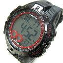Timex (タイメックス) T5K423 Marathon/マラソン デジタル ラバーベルト ブラック×シルバー メンズウォッチ 腕時計