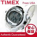 TIMEX (タイメックス) T5K806 Marathon/マラソン デジタル ラバーベルト ホワイト レディースウォッチ 腕時計