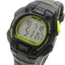 TIMEX (タイメックス) T5K824 IRONMAN 30-LAP/アイアンマン 30ラップ デジタル ラバーベルト ブラック×グレー ユニセックスウォッチ 腕時計 【あす楽対応】