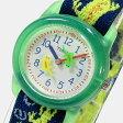 Timex (タイメックス) T728819J TIMEX KIDS/タイメックスキッズ ナイロンベルト グリーン トカゲ キッズ・子供にオススメ! かわいい! キッズウォッチ 腕時計