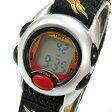 Timex (タイメックス) T787519J IRONKIDS/アイアンキッズ クロノグラフ デジタル ナイロンベルト ブラック×シルバー キッズ・子供にオススメ! かわいい! キッズウォッチ 腕時計
