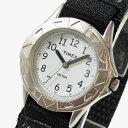 Timex (タイメックス) T79051 TIMEX KIDS/タイメックスキッズ ナイロンベルト ブラック×シルバー キッズ・子供にオススメ! かわいい! キッズウォッチ 腕時計 【あす楽対応】