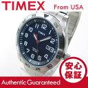 【メール便送料無料】TIMEX (タイメックス) TW2P61500 Fieldstone Way/フィールドウェイ 蛇腹ベルト ブルーダイアル メンズウォッチ 腕時計