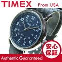 Timex (タイメックス) TW2P65700 Weekender/ウィークエンダー セントラルパーク フルサイズ ブルー×グレー ミリタリー ユニセックスウォッチ 腕時計