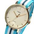 TIMEX(タイメックス) TW2P91000 Weekender Fairfield /ウィークエンダー フェアフィールド ブルーストライプ ユニセックスウォッチ 腕時計