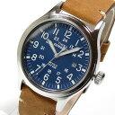 Timex (タイメックス) TW4B01800 Expedition Scout/エクスペディション スカウト レザーベルト ブルーダイアル メンズウォッチ 腕時計