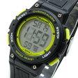 Timex (タイメックス) TW5K84900 Mid-Size Marathon/ミッドサイズ マラソン デジタル ラバーベルト ブラック×イエロー メンズウォッチ 腕時計 【あす楽対応】