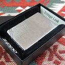 ZIPPO(ジッポー)230 Vintage/ヴィンテージ 定番スタンダード ブラッシュクローム/つや消し FULL SIZE ZIPPO LIGHTER/ジッポライター