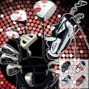 13 points of world eagle F-01α men golf club full set