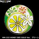 グリーン上で目立つ!メガマーカー MM-222 HONEY BEE GOLD Ver.グリーン スワロフスキークリスタル付き 【ポイント2倍】【最安値に挑戦】【evmkhc】【あす楽】