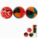 かっこいい,ゴルフ,日本,かぶき 歌舞伎ボール 3球入り BALL072  楽しい全面プリントの歌舞 ...